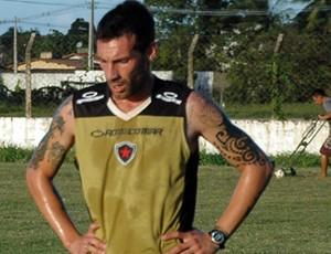 Mario Larramendi, Botafogo-PB, Campeonato Brasileiro, Série D,  (Foto: Richardson Gray / Globoesporte.com/pb)