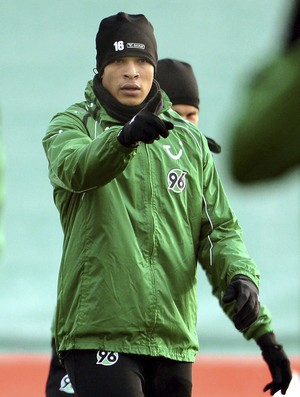 França no treino do Hannover (Foto: EFE)