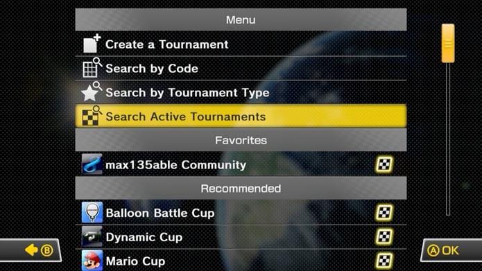 Active Tournaments mostra os torneios mais agitados (Foto: Reprodução/Murilo Molina)