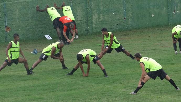 Coruripe treino (Foto: Viviane Leão/GloboEsporte.com)