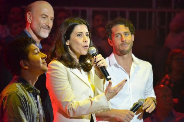 Mobilize: evento contou com a participação de Flavio Canto (Foto: Alexandre Horta / Globo)