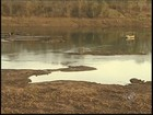 Seca transforma rio do noroeste paulista em pasto e 'mar de pedras'