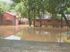 Após chuvas, Rio Atibaia tem maior vazão em 16 anos e alaga distrito