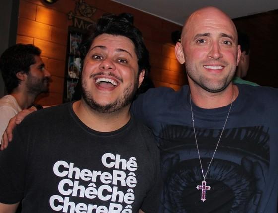 Marcos Majella é só elogios ao amigo, Paulo Gustavo, que o ajudou muito no início da carreira  (Foto: Divulgação)