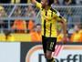 Logotipo no penteado pode causar punição a Aubameyang no Dortmund