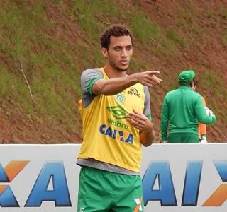 Neto Chapecoense treino (Foto: Laion Espíndula)