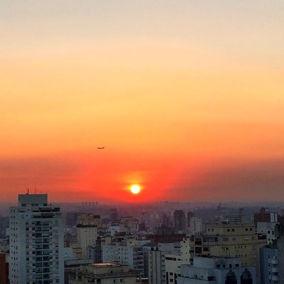 Vista de São Paulo a partir da Avenida Paulista (Foto: Marcia Hirota/SOS Mata Atlântica)