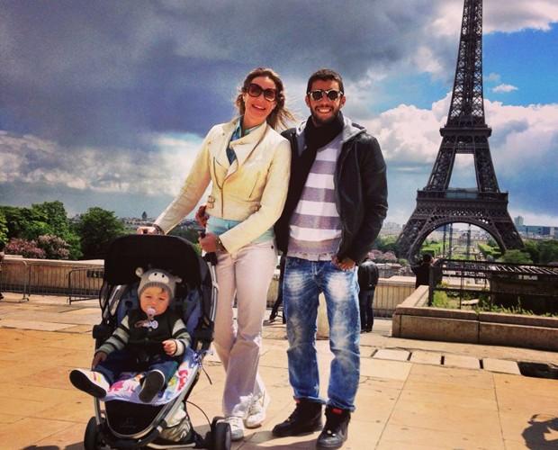 Eles são praticamente um poster para uma família feliz! (Foto: Arquivo Pessoal)