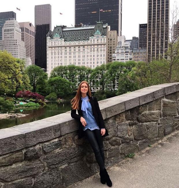 Marina Ruy Barbosa em NY (Foto: Reprodução/Instagram)