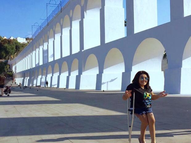 Jovem de Araxá cria canal na internet para superar o preconceito (Foto: Lorrane Silva/Arquivo pessoal)