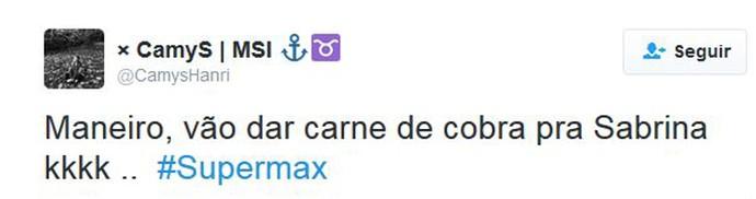 Supermax (Foto: Reprodução)