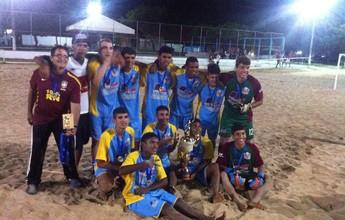 Em casa, RN festeja título da Copa Brasil Escolar de Beach Soccer