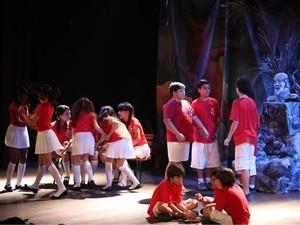 Espetáculo Hamlet (Foto: Divulgação/Gacemss)