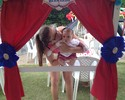 Longe da filha pela 1ª vez, Rebecca dribla saudades e falta de ritmo
