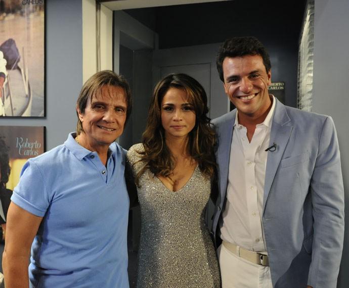 """""""Esse cara sou eu"""" tema do romance de Théo e Morena, em 'Salve Jorge' (Foto: Rede Globo / Estevam Avellar)"""