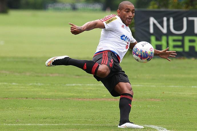 Anderson Pico treinando Flamengo (Foto: Gilvan de Souza / Flamengo)