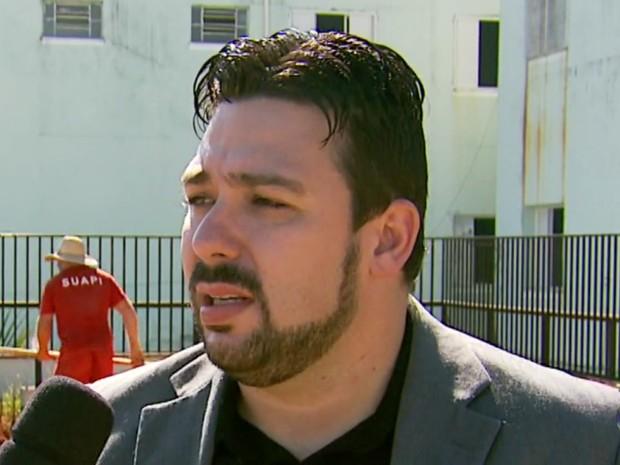 Diretor do presídio de Andradas (MG), Douglas Fernando Cussolin Pelagaldi, é um dos investigados (Foto: Reprodução EPTV)