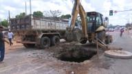 Depasa interdita Avenida Getúlio Vargas em Rio Branco para obras