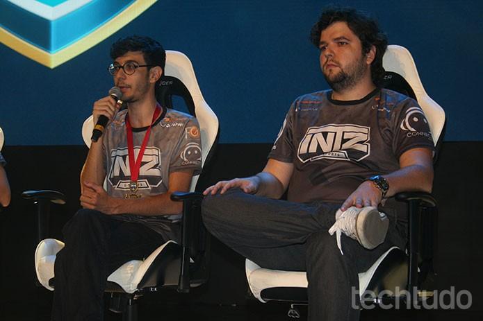Intz mostrou humildade e seguiu com suas estratégias sem se afobar (Foto: Felipe Vinha/ TechTudo)
