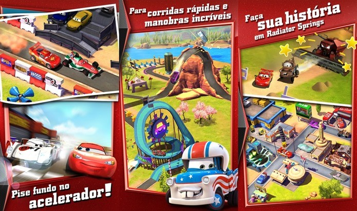 Jogo dos filmes de Carros é o principal destaque neste Dia das crianças (Foto: Divulgação)