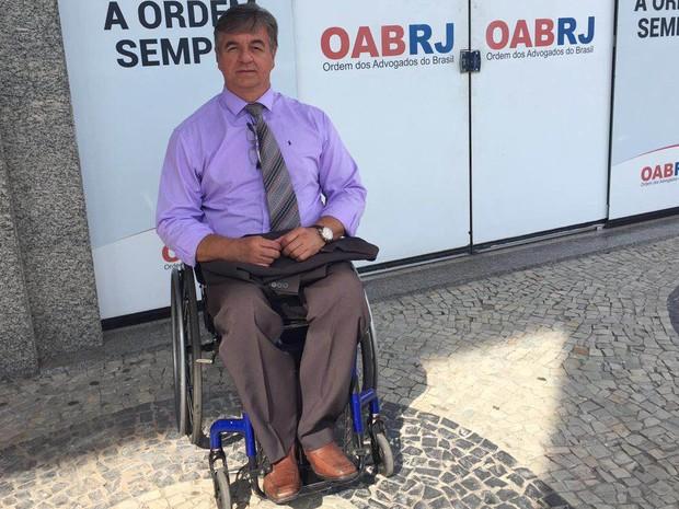 Cadeirante, Geraldo faz dá a sua avaliação do legado paralímpico  (Foto: Patricia Teixeira/G1)