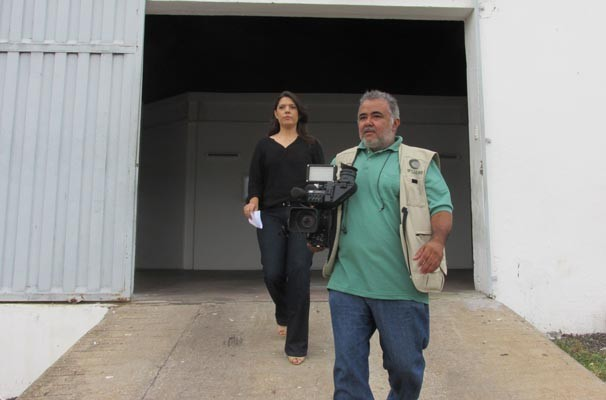 VT especial mostrou o trabalho de quem está por trás das câmeras do GE (Foto: Katylenin França/TV Clube)