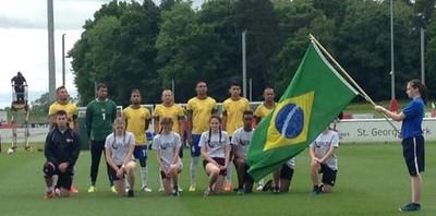 Brasil x Escócia mundial futebol de 7 Wanderson (Foto: Reprodução/Twitter)