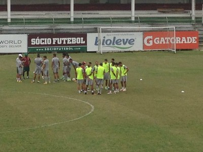 Fluminense treino (Foto: Matheus Palmieri/ Globoesporte.com)