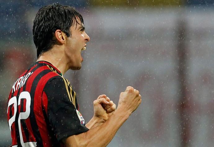 Kaka gol Milan (Foto: Reuters)