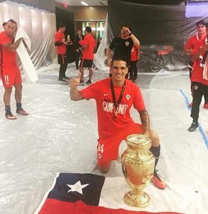 Mark González Copa América (Foto: Arquivo Pessoal)
