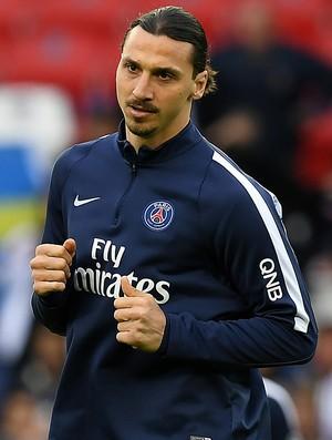 Ibrahimovic PSG x Nantes (Foto: AFP)