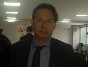 Lásaro Cunha, diretor jurídico Atlético-MG (Foto: Tayrane Corrêa)