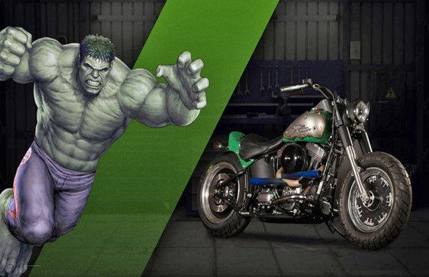 Hulk - Harley-Davidson Fat Boy Lo, a.k.a. Strength (Foto: Divulgação)