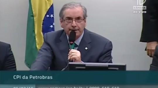 O chefe: Eduardo Cunha (Foto: Reprodução / YouTube)
