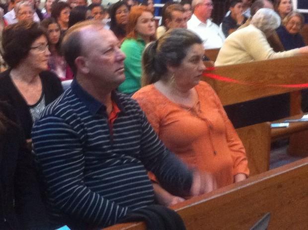 Edsom Ribeiro e Angélica Panseri, pais de Renan Ribeiro (Foto: José Maria Lima / EGO)