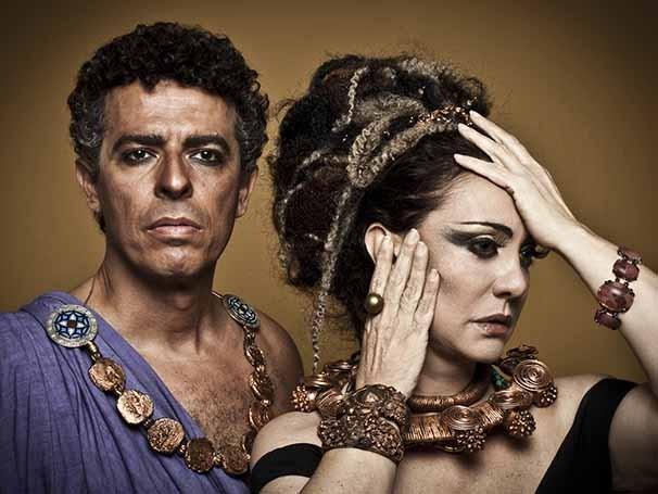 Eliane Giardin e Gustavo Gasparani em 'Édipo Rei' (Foto: Murillo Meirelles)