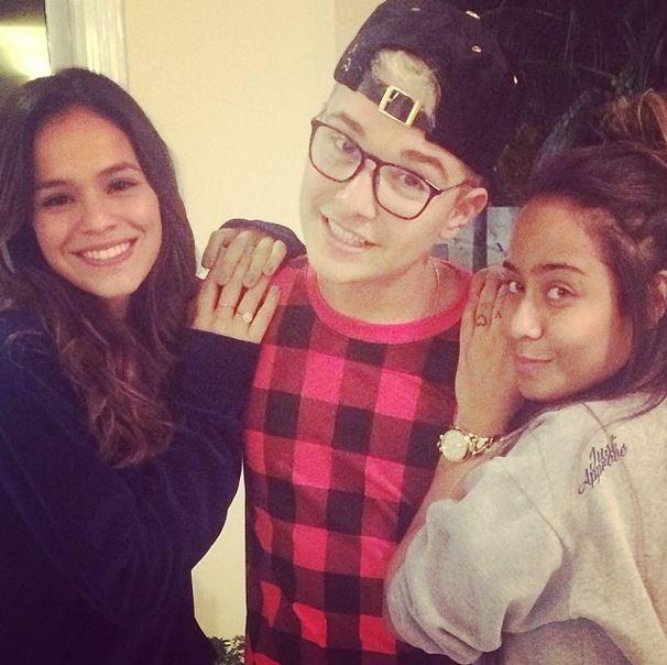 Bruna Marquezine, irmã de Neymar e fã (Foto: Instagram / Reprodução)