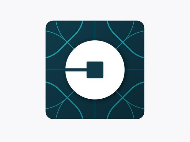 Novo símbolo do Uber troca logo com letra U por círculo com quadrado no centro. Mudança reflete 'celebração à nossa tecnologia, bem como às cidades que servimos' (Foto: Divulgação/Uber)