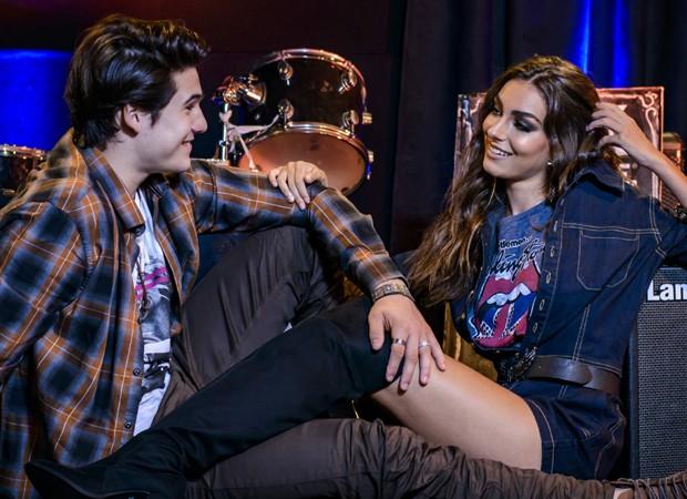 Marina Moschen e Nicolas Prattes posam em ensaio exclusivo para QUEM (Foto: Fabio Cordeiro/QUEM)