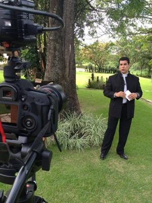 Programa será gravado em cenário externo em Divinópolis (Foto: Eron de Paula/Divulgação)