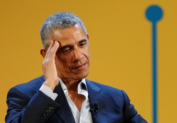 Barack Obama falou hoje em evento na Itália (Foto: Alessandro Garofalo/Reuters)