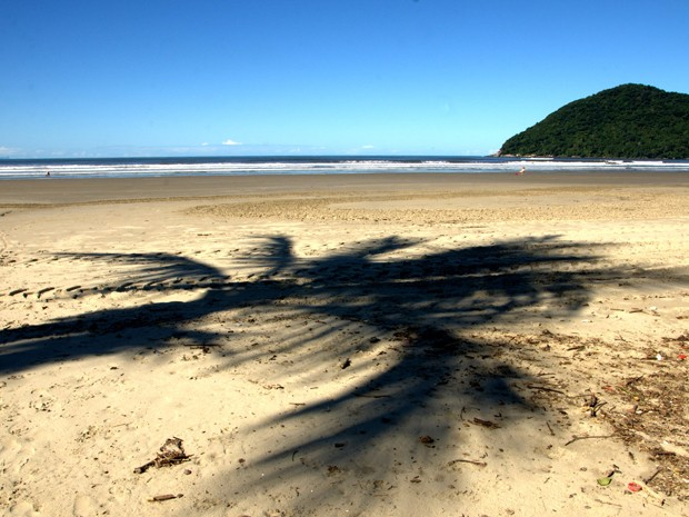 Praia da Enseada, em Bertioga (Foto: Renata de Brito/Prefeitura de Bertioga)
