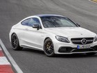 Novo C 63 AMG Coupé é Classe C mais esportivo de todos, diz Mercedes