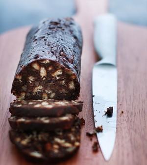 Salame de chocolate (Foto: casa e comida)