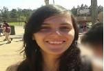 Jovem assassinada a facadas em São José (Foto: Reprodução/TV Vanguarda)