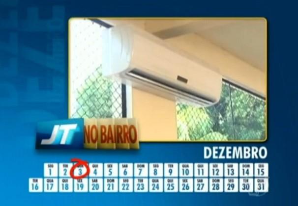 Centrais de ar foram instaladas, mas nunca foram utilizadas (Foto: TV Tapajós)