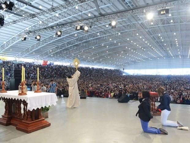 Evento religioso com Padre Fábio de Melo reúne 170 mil no interior de SP (Foto:  Wesley Almeida/Canção Nova)