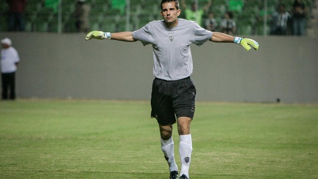 Victor, goleiro do Galo (Foto: Bruno Cantini / Flickr do Atl&#233;tico-MG)