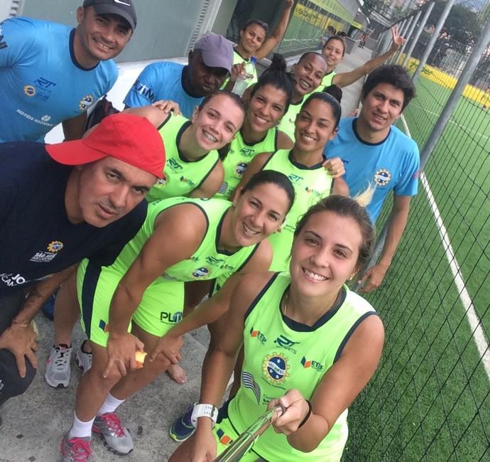 São José futebol feminino, Djenifer Becker (Foto: Arquivo pessoal/Djenifer Becker)