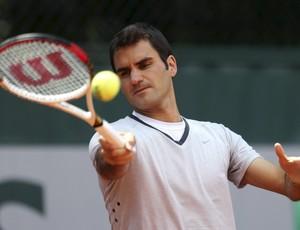 Roger Federer primeira rodada Roland Garros (Foto: Reuters)